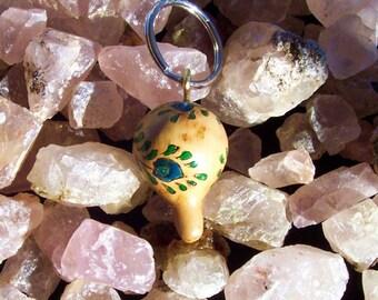 Unique mini-gourd keychain