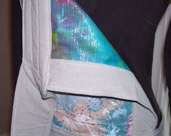 Mei tai styled baby carrier Amazingly comfortable, reversible, reinforced OOAK