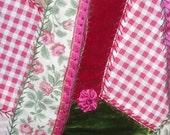 Velvet Rose Pink  Purse Bag