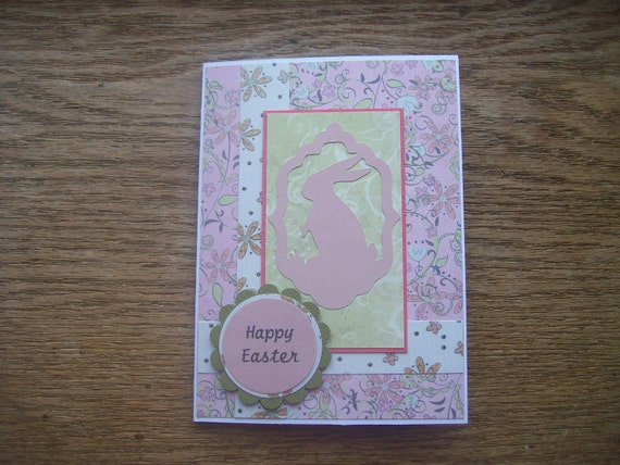 Set of 8 Easter Cards with Bunny