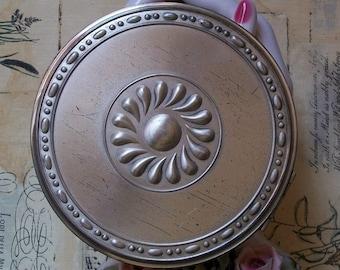 Vintage Sterling Silver Volupte Compact