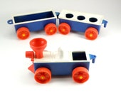 adorable vintage plasic train by kusan inc CHOO CHOO
