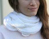 Skinny Scarf  - Solid Color - Extra Long Size Only - Handmade & Crocheted Crochet Customize Colors