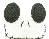 CLEARANCE SALE - Jack Skellington Hat Nightmare Before Christmas Preteen/Teen - OOAK Ready To Ship - Handmade & Crocheted