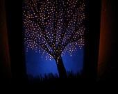 blossoming tree night light