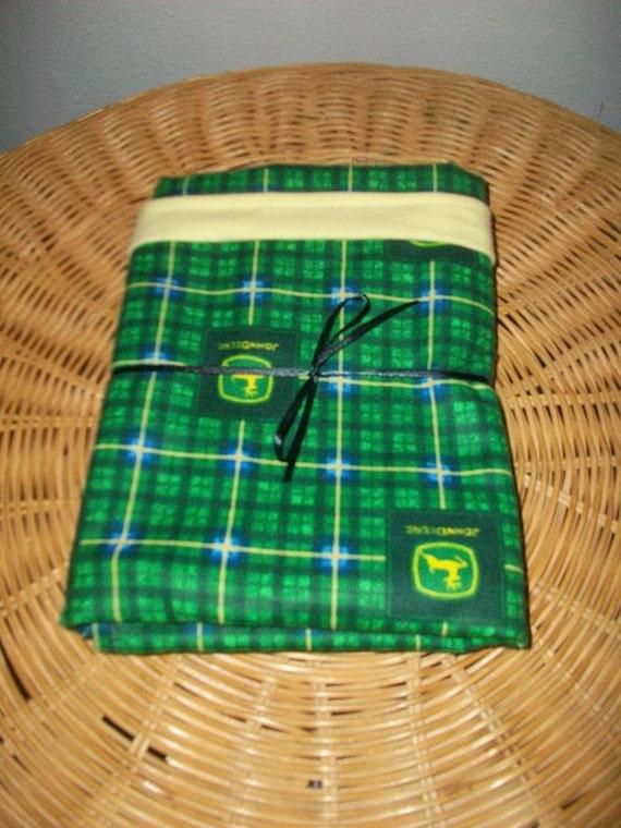 SALE JohnDeer themed recieving Blanket