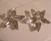 Star Shaped Glass Candle Holder-Holidays/Christmas