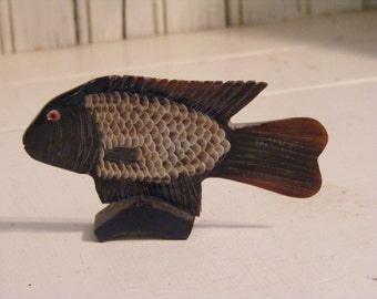Decorative Fish-Hand Carved and Painted