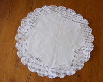 Antique Doily with Fancy Edge