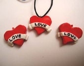 Heart shaped necklace -  Love is in the air