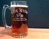 Beer Mug, Custom Engraved For Birthday Gift
