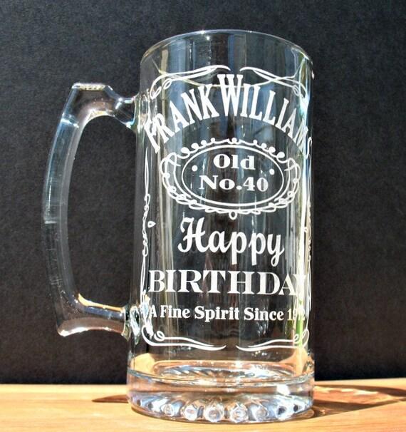 Beer Mug Personalized Sport Mug Birthday By