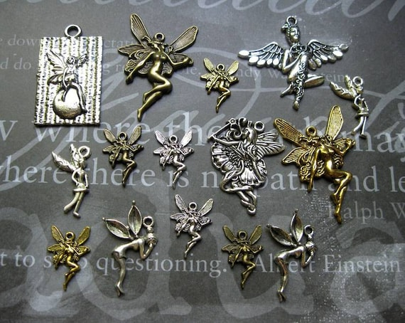Fairy Collection / Charms and Pendants - C1252