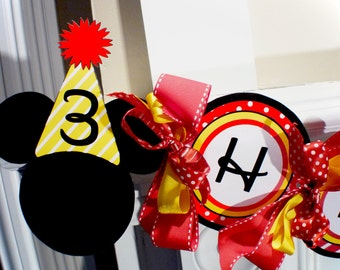 Clubhouse Mouse Printable Party Birthday DIY Banner