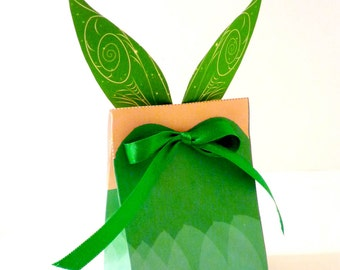 Tinkerbell Pixie Fairy Printable Party Treat Box
