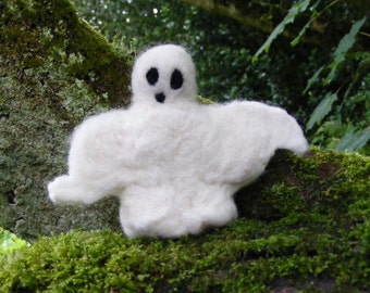 Needle Felted Standing Ghost