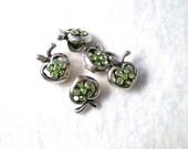 Green Apple Bead Beads Set of 5
