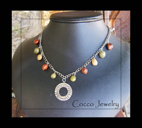 Mixed Jasper Necklace