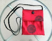 """COC """"Red Pendant"""" Clutch"""