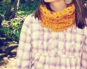 Infinity Cowl Scarf--You Choose Color