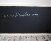 Large Rustic Chalkboard
