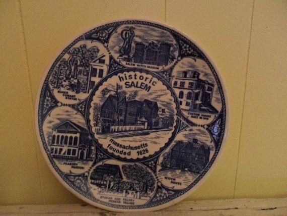 Vintage Salem Plate Made In Japan