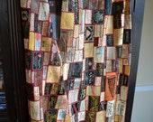 Very Rare c. 1920 Apparel Label Quilt Top