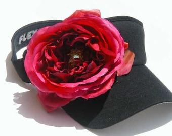 Rose Visor - Fushia