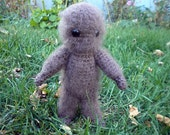 Made to Order Big Foot- crocheted doll