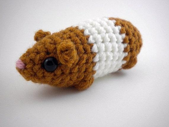 Crochet Amigurumi Guinea Pig : Guinea Pig Amigurumi Plushie