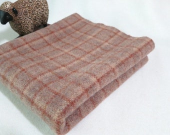 Felted Wool Fabric, Fat Quarter Yard, Desert Sand, J513