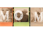 PERSONALIZED GIFTS-Personalized Photo Blocks- Great Mothers Day Gifts to Give for Mom-Great Christmas Gifts