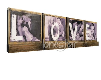 PERSONALIZED PHOTO BLOCKS Gifts To Spell Out Love-Lasting Memories - Custom Photo Displays-Great Valentines Day Gifts