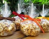 Caramel Popcorn Apples / Party Favors