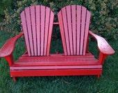 The Perfect Adirondack Love-Seat