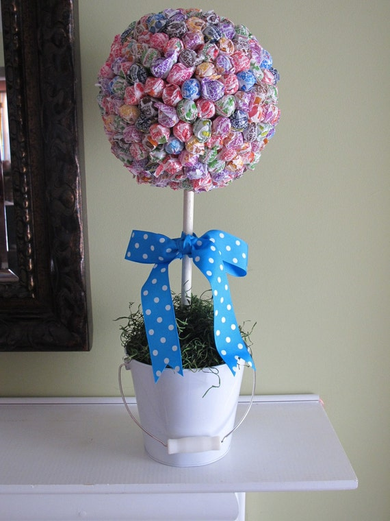 Items similar to lollipop topiary on etsy