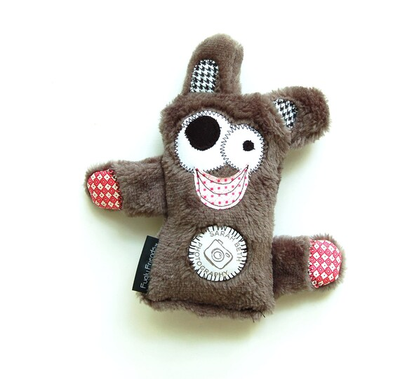 LIMITED EDITION  Sarah Beth Photography & Fugly Friends Medium Durable Plush Dog Toy - Donation to Animal Rescue
