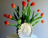 Vintage Roselane Vase California Pottery 1950's