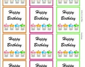 Happy Birthday Cupcake Download Fun for Paper Crafting