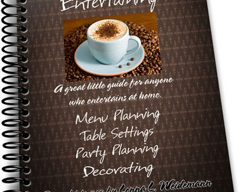 Home and Holiday Entertaining e-book from Food to Gift Ideas