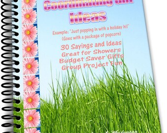 30 Coordinating Gift Ideas and Sayings Great Holiday Homemade Gift Ideas