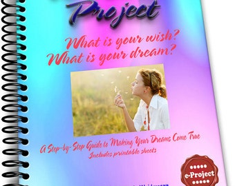 New...20 Wishes e-Project Download Act on your Dreams and Wishes a Great Project Book To Do with Groups and Kids Too