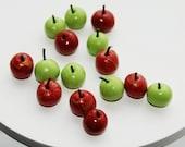Dollhouse Miniature Food - Apples