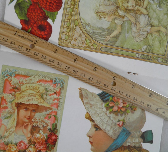 Decoupage Book by Hallmark           for DIY Projects      Great Images of Victorian Ladies and Sweet Children