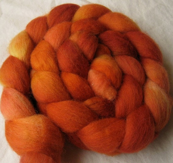 "Falkland roving, ""One Dreamed of Oranges"""