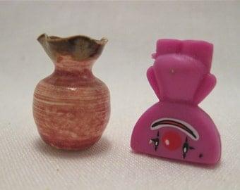Lets Get Happy Miniature Porcelain Vase
