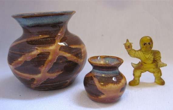 The Golden Shaolin Tribe Miniature Vase Set NOW ON SALE