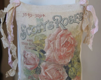 Roses Flower Ad Door Chair Pillow Hanger