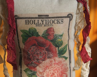 Hollyhock Vintage Ad Door Chair Hanger