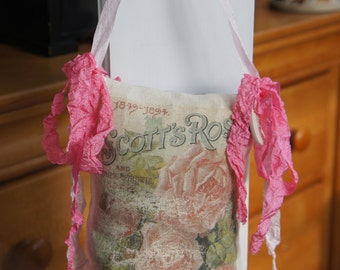 Roses Ad Door Chair Pillow Hanger